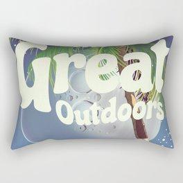 The Great Outdoors Moon Rectangular Pillow