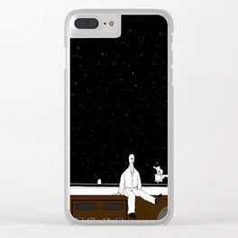 The Whirligig of music. Clear iPhone Case