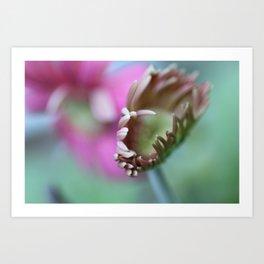 An Alien Flower Art Print