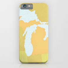 The GREAT LAKES of NORTH AMERICA Slim Case iPhone 6s