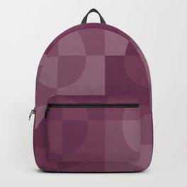 Easter blush pastel pink shades squares pattern Backpack