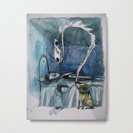 the nightmare Metal Print