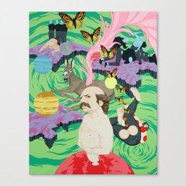 The Terrible Dream of Sancho Panza Canvas Print