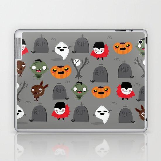 Not that spooky halloween Laptop & iPad Skin