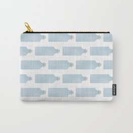 Vintage Bottle Stripes Carry-All Pouch