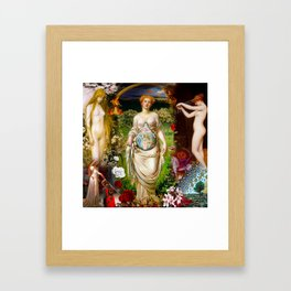 Initiation Framed Art Print