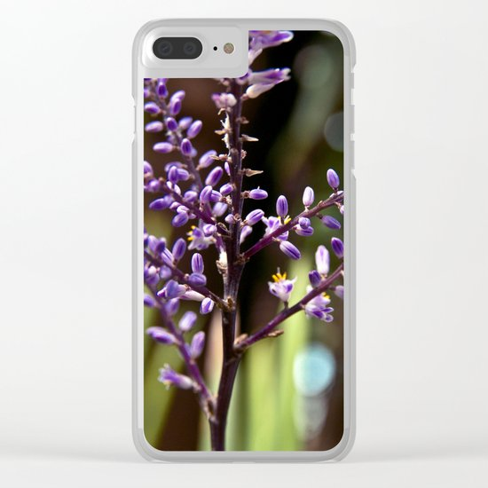 Botanical Dream of Spring Clear iPhone Case