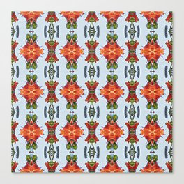 Royal Poinciana OP Pattern Canvas Print
