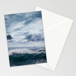 He inoa wehi no Hookipa  Pacific Ocean Stormy Sea Stationery Cards