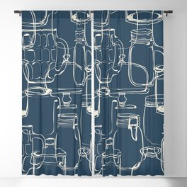 glass containers Blackout Curtain