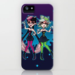 Callie and Marie iPhone Case