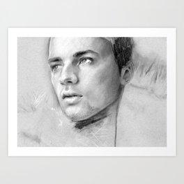 Charcoal Drawing No. 2 Art Print