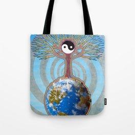 Balanced Earth Tote Bag