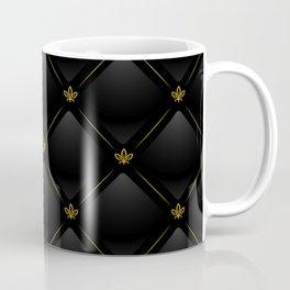 Black Checkered Tile Coffee Mug