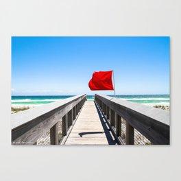 Windy Destination Canvas Print