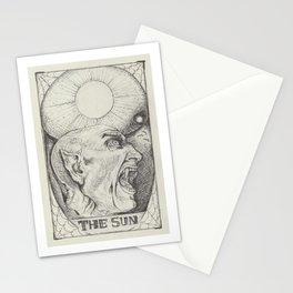 The Sun Tarot Stationery Cards