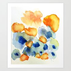 flower inkling Art Print
