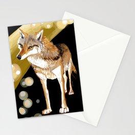 Mongolian Wolf #1 Stationery Cards