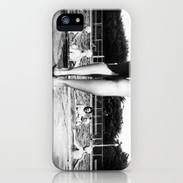 A Day At The Pool iPhone Case