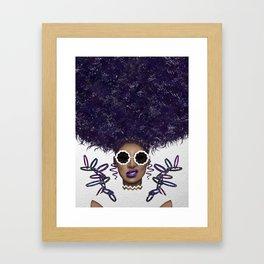 Puff Life Framed Art Print