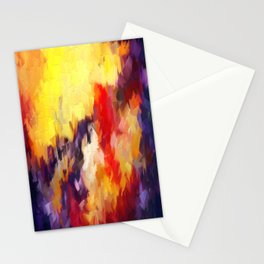 Abstract Impressions of an Abstract Stationery Cards