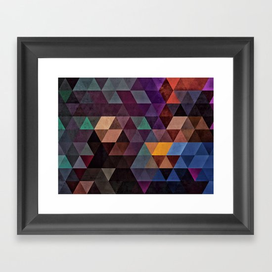 rhymylyk dryynnk Framed Art Print