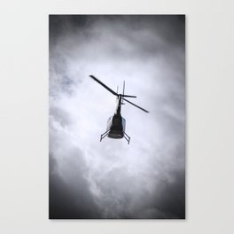 Flying Into Cloud Canvas Print