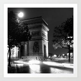 Triumph - Paris Art Print