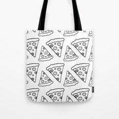Ink Pizza Tote Bag