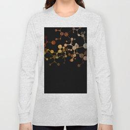 Metallic Molecule Long Sleeve T-shirt