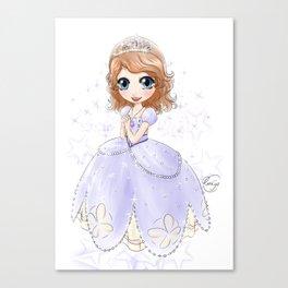 Princesse Sofia • Sofia the First • ちいさなプリンセス ソフィア Canvas Print