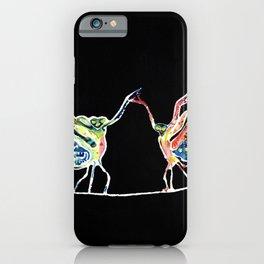 Praying Mantis Dance iPhone Case