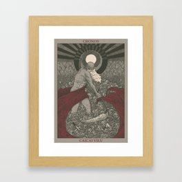 Cronos Framed Art Print