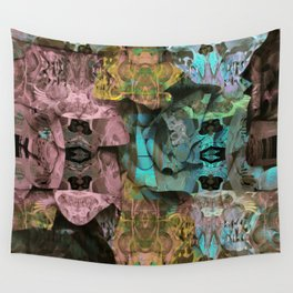 Surreal Floral Intricate Visionary Print Wall Tapestry