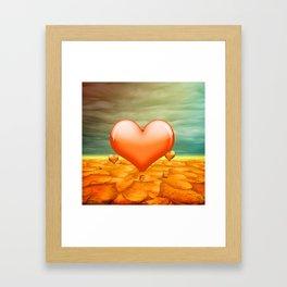 Heartrain Framed Art Print