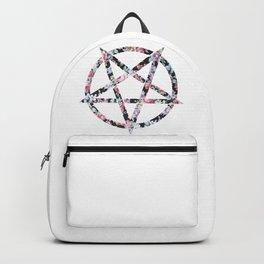 Floral Pentagram Backpack
