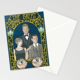 Gatsby Stationery Cards