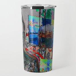 Market Art Travel Mug