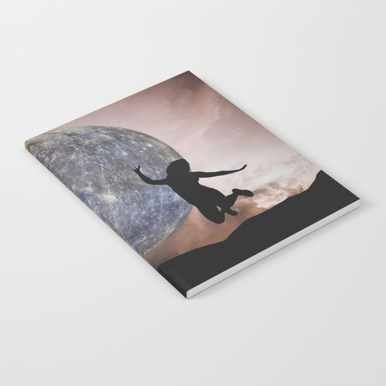 DANCING WITH THE MOON Notebook