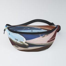 Boats On A River Fanny Pack
