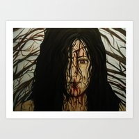 evil dead Art Prints featuring Evil Dead by Lydia Dick