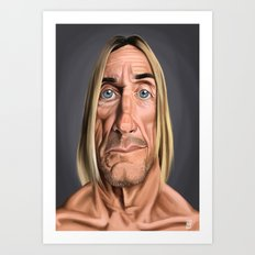 Celebrity Sunday ~ Iggy Pop Art Print