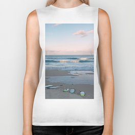 Sunset surf Biker Tank