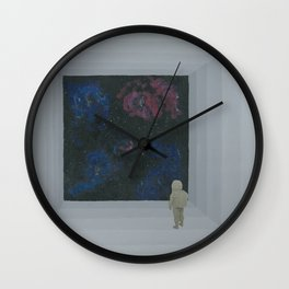 Empty Space 13 Wall Clock