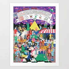 New World Order: An Illuminati Image Search Art Print