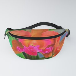 Cattleya Orchid Fanny Pack