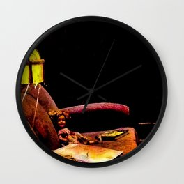Did She Just Move? Wall Clock