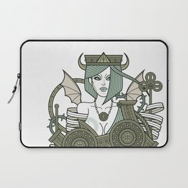 SINS Mentis - Envy Queen of Clubs Laptop Sleeve