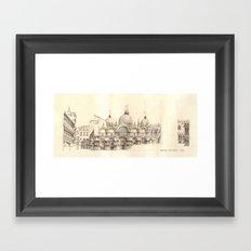 Piazza San Marco, Venice Framed Art Print