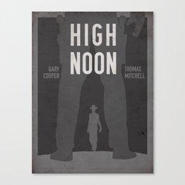 High Noon Western Movie Print Canvas Print